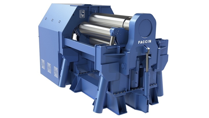Faccin Plate Rolls Planetary Swing Arms 4HEP