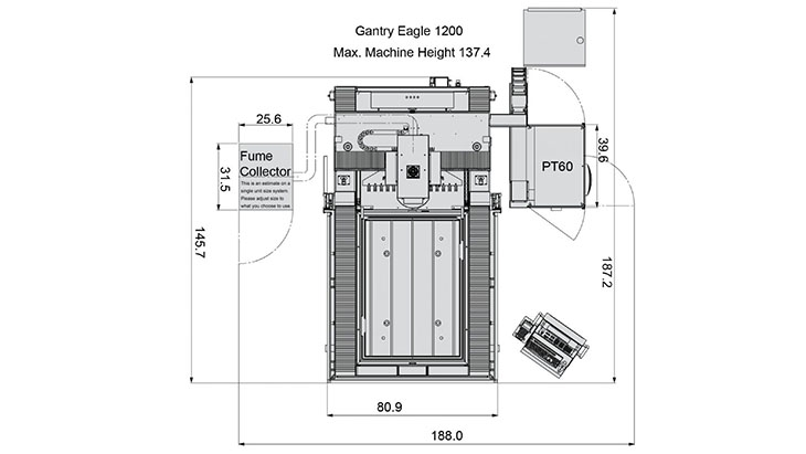 MC Gantry Eagle 1200